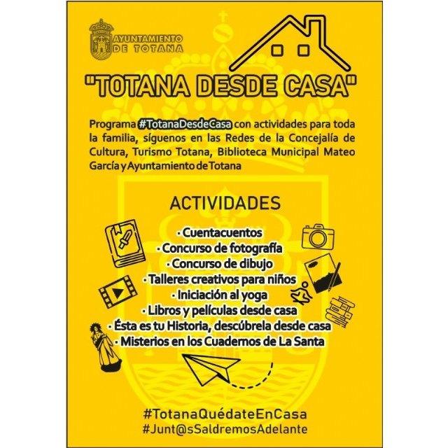 Más de 140 personas colaboran en el programa #TotanadesdeCasa durante el confinamiento - 1, Foto 1