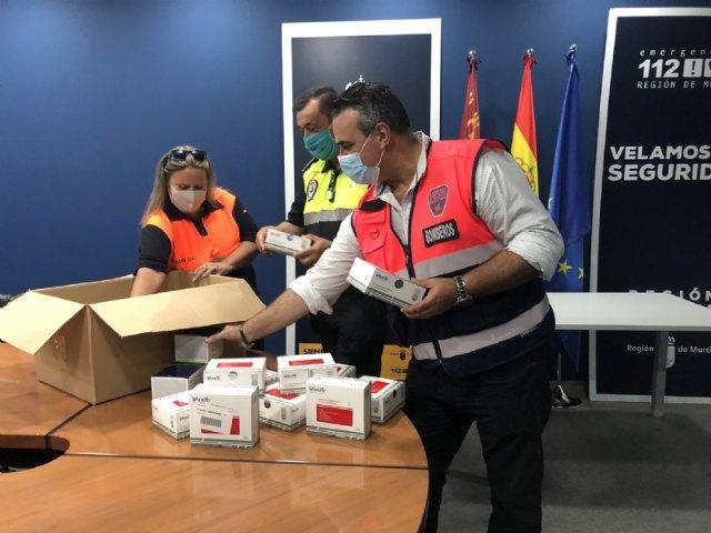 La Comunidad Autónoma reparte a la Policía Local y Protección Civil de Totana unidades de test de inmunidad para la detección de anticuerpos del COVID-19 - 2, Foto 2
