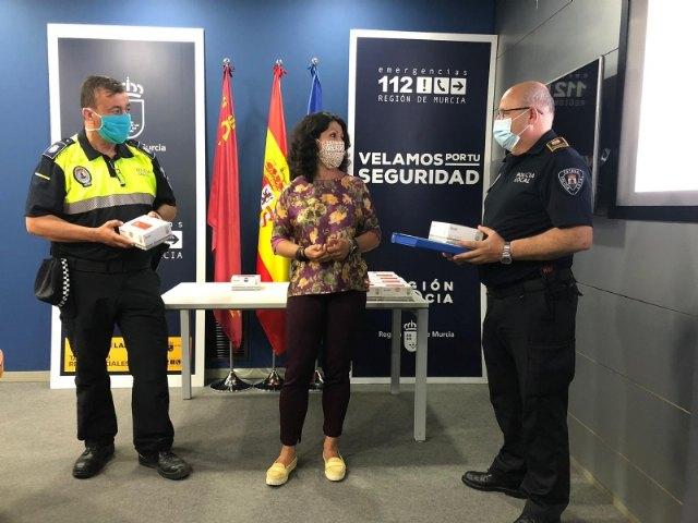 La Comunidad Autónoma reparte a la Policía Local y Protección Civil de Totana unidades de test de inmunidad para la detección de anticuerpos del COVID-19 - 5, Foto 5