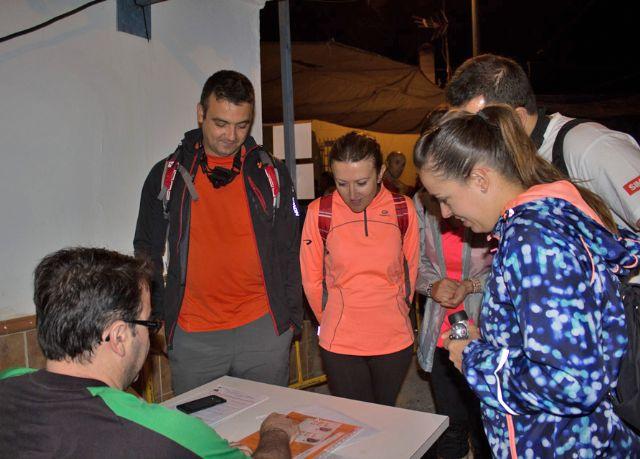 Más de 300 participantes en la XV Travesía Nocturna de Montaña de Puerto Lumbreras - 2, Foto 2