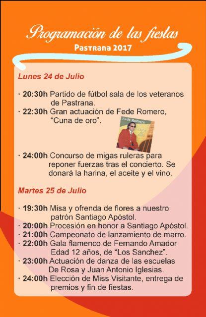 Pastrana celebra sus fiestas patronales del 22 al 25 de julio - 1, Foto 1