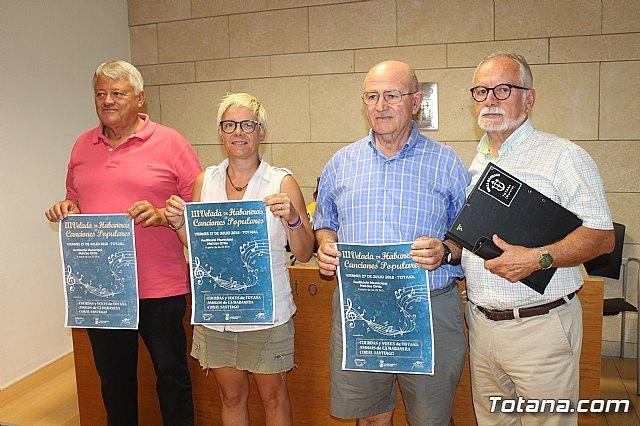 La III Velada de Habaneras y Canciones Populares tendrá lugar el viernes 27 de julio en el auditorio municipal Marcos Ortiz - 1, Foto 1