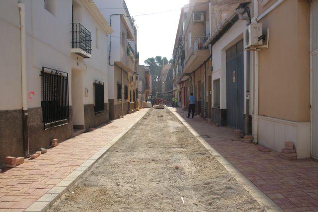 Las obras en Acequia Espuña, calle Los Pasos y avenida Cartagena, próximas a su finalización, Foto 1