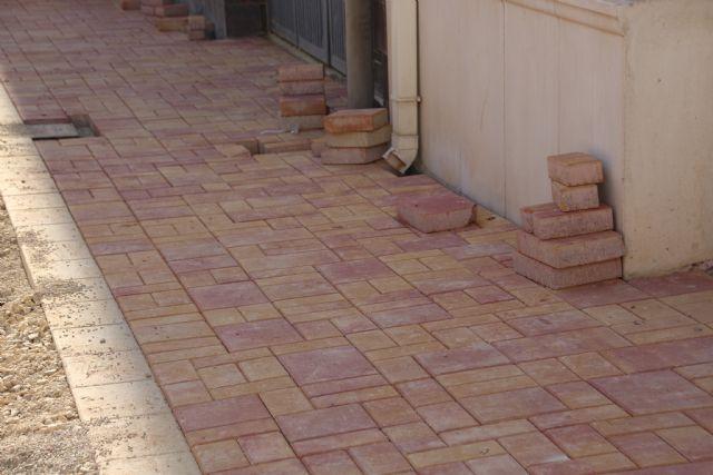 Las obras en Acequia Espuña, calle Los Pasos y avenida Cartagena, próximas a su finalización, Foto 2