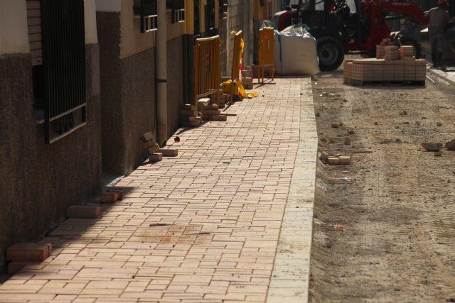 Las obras en Acequia Espuña, calle Los Pasos y avenida Cartagena, próximas a su finalización, Foto 3