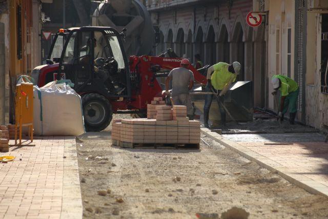 Las obras en Acequia Espuña, calle Los Pasos y avenida Cartagena, próximas a su finalización, Foto 4