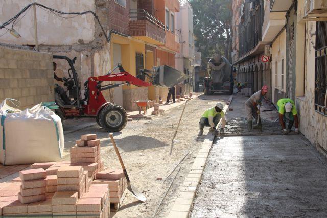 Las obras en Acequia Espuña, calle Los Pasos y avenida Cartagena, próximas a su finalización, Foto 5