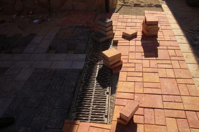 Las obras en Acequia Espuña, calle Los Pasos y avenida Cartagena, próximas a su finalización, Foto 6