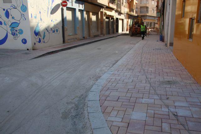 Las obras en Acequia Espuña, calle Los Pasos y avenida Cartagena, próximas a su finalización, Foto 7