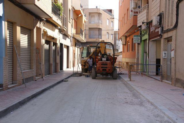 Las obras en Acequia Espuña, calle Los Pasos y avenida Cartagena, próximas a su finalización, Foto 8