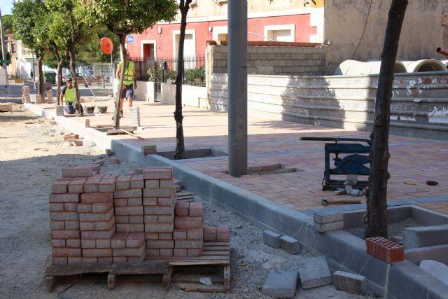 Las obras en Acequia Espuña, calle Los Pasos y avenida Cartagena, próximas a su finalización, Foto 9