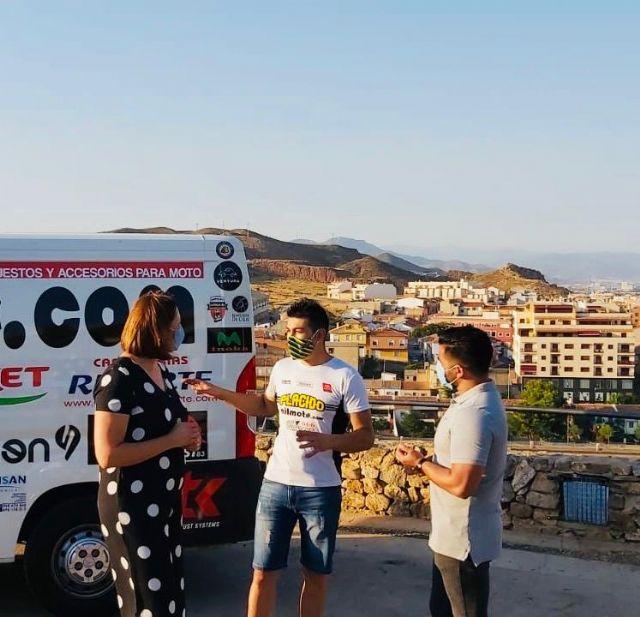 El piloto de exhibiciones Plácido Pérez mostrará los encantos de Puerto Lumbreras a través de un vídeo promocional - 2, Foto 2