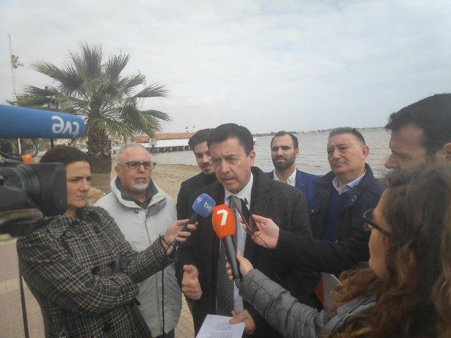 Ciudadanos explicará en un café telemático los consensos políticos logrados por la formación liberal sobre el Mar Menor - 1, Foto 1