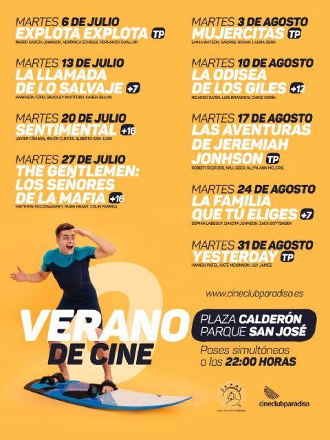 La programación de 'Cine de Verano' de Lorca continúa este martes, 20 de julio, con la comedia española 'Sentimental' en el Parque de San José y la Plaza de Calderón - 2, Foto 2