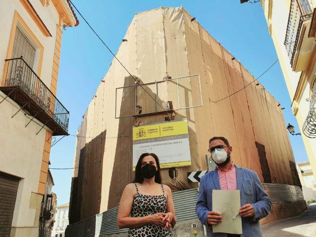 El alcalde de Lorca anuncia la adjudicación del proyecto de construcción del Palacio de Justicia con un presupuesto de ejecución de 10 millones de euros - 1, Foto 1