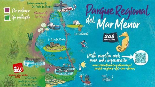 IU-Verdes aplaude la propuesta de UP para crear un Parque Regional en el entorno del Mar Menor - 1, Foto 1