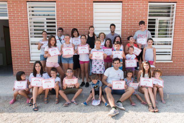 Las escuelas de verano de Bahía y la Cañadica finalizan con un campamento, Foto 1