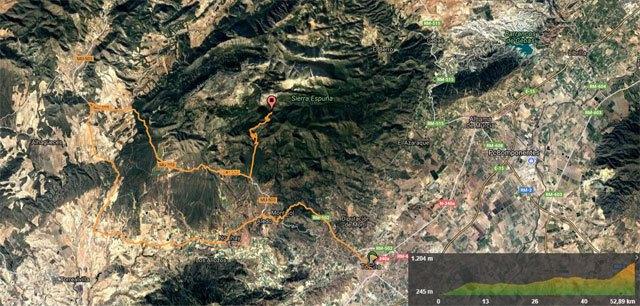 Organizan una ruta Totana-Collado Bermejo para disfrutar del auténtico ciclismo en las cumbres de Sierra Espuña y ver pasar la Vuelta Ciclista a España, Foto 2