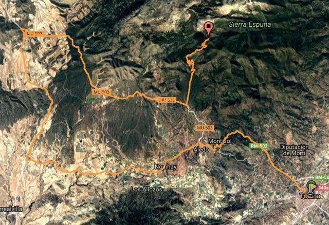Organizan una ruta Totana-Collado Bermejo para disfrutar del auténtico ciclismo en las cumbres de Sierra Espuña y ver pasar la Vuelta Ciclista a España, Foto 3