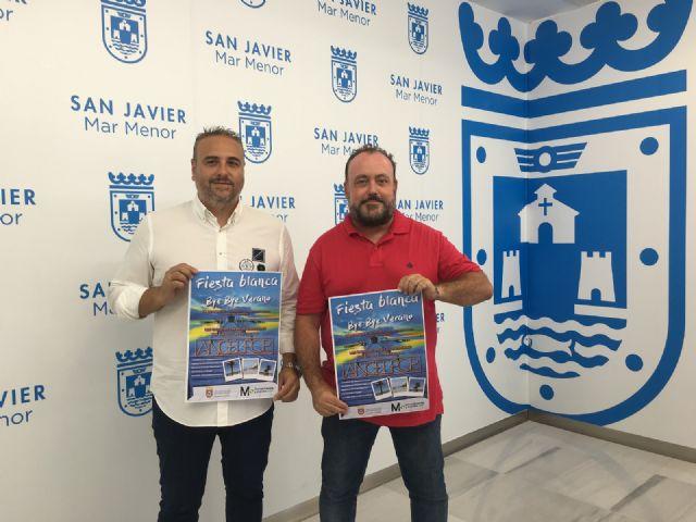 Santiago de la Ribera despide el verano con una Fiesta Blanca - 1, Foto 1
