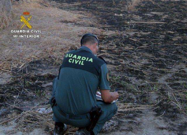 La Guardia Civil investiga a dos personas por un incendio forestal ocurrido en Blanca - 4, Foto 4