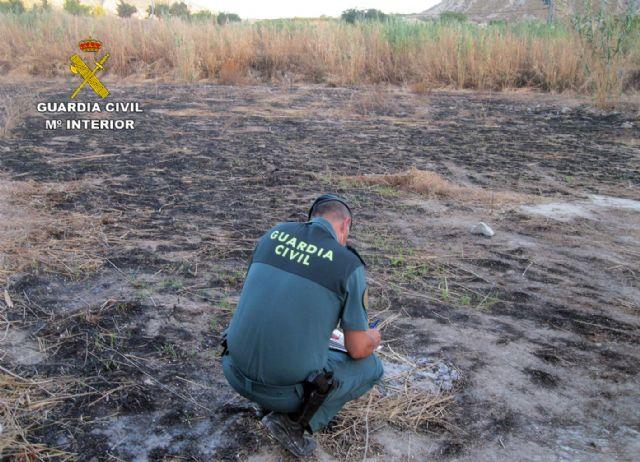La Guardia Civil investiga a dos personas por un incendio forestal ocurrido en Blanca - 5, Foto 5