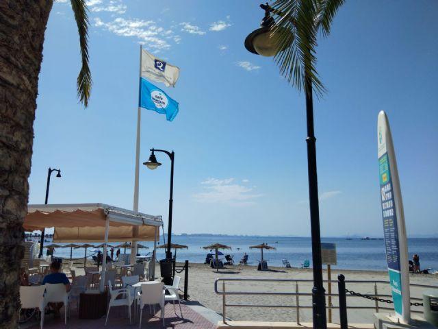 La consejera de Turismo preside el acto de izada de la bandera Safe Tourism Certified - 3, Foto 3