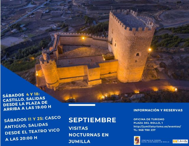 Turismo programa visitas guiadas nocturnas para los sábados del mes de septiembre - 1, Foto 1