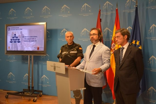 La Región acoge un simulacro único en España de nivel 2 de emergencia simultáneo por inundación y terremoto en Lorca y Mazarrón