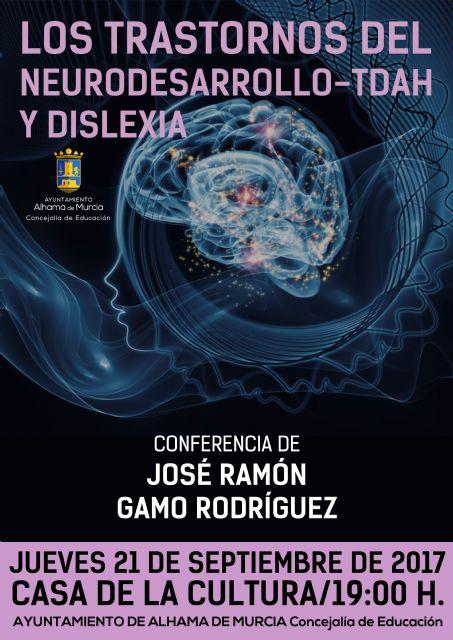 Conferencia del especialista en audición, lenguaje y neuropsicología infantil José Ramón Gamo, Foto 1