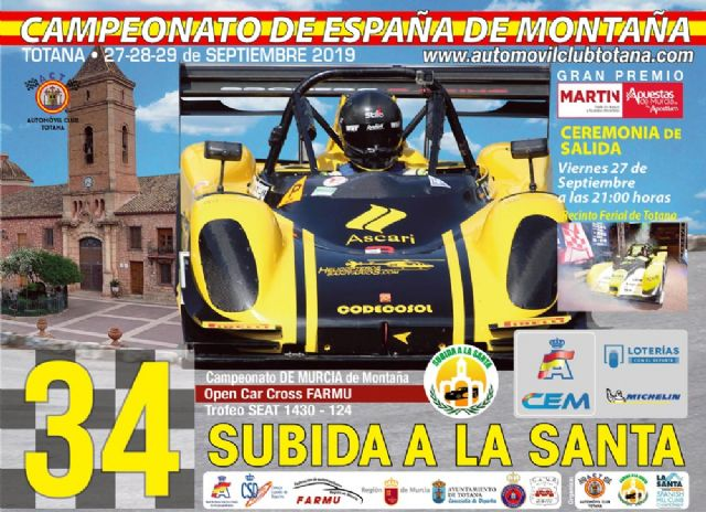 The 34th Ascent to La Santa, penultimate scoring event for the Spanish Mountain Championship, will be held from September 27 to 29, with more than 60 pilots, Foto 4