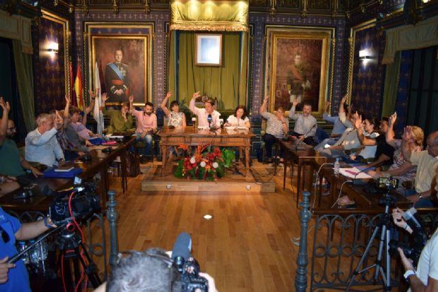 El Pleno aprueba apoyar la declaracion de zona catastrófica para la Región de Murcia por unanimidad, Foto 1