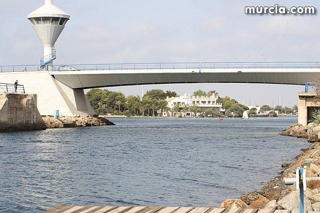 El puente del Estacio permanece cerrado a embarcaciones por avería - 1, Foto 1