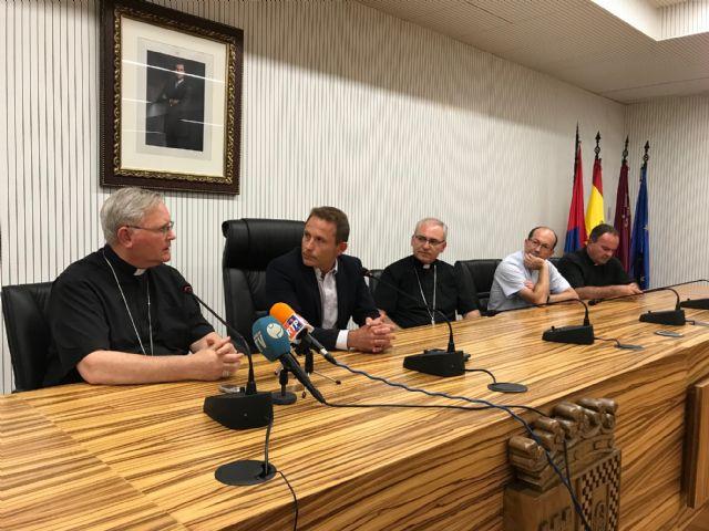 El Alcalde recibe al Obispo de Cartagena - 3, Foto 3