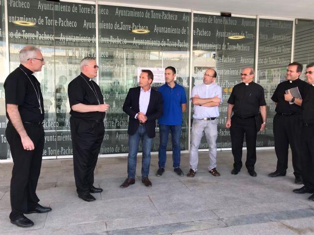 El Alcalde recibe al Obispo de Cartagena - 5, Foto 5