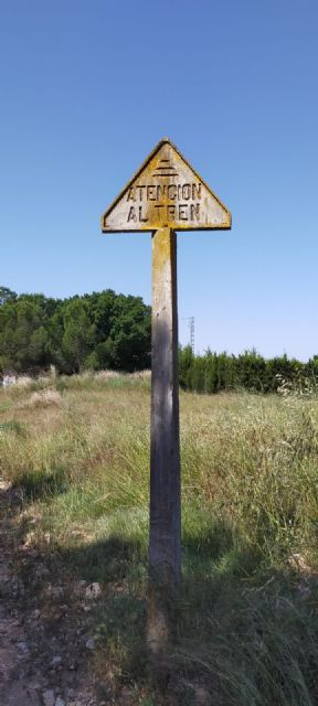 La Vía Verde del Chicharra proyecta un nuevo tramo de nueve kilómetros que conectará Yecla con la Comunidad Valenciana - 2, Foto 2