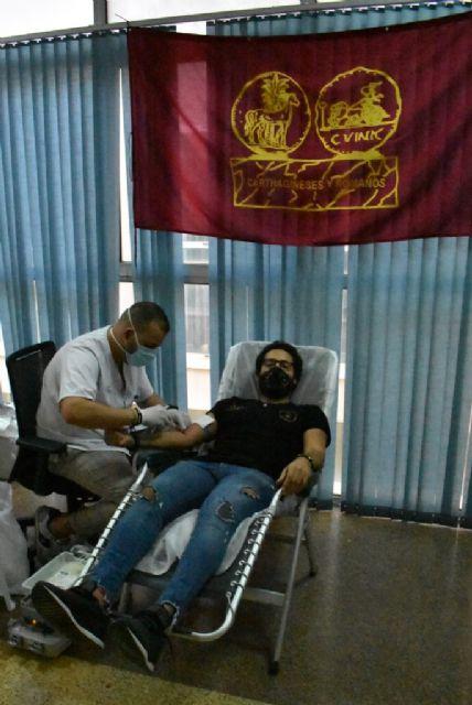 Los festeros acuden a la llamada de la donacion de sangre - 3, Foto 3