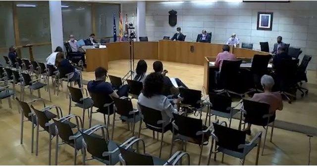 Debate en el Pleno sobre los Fondos de Ordenación para 2022 en el que se solicitan al Ministerio 4.008.000 euros