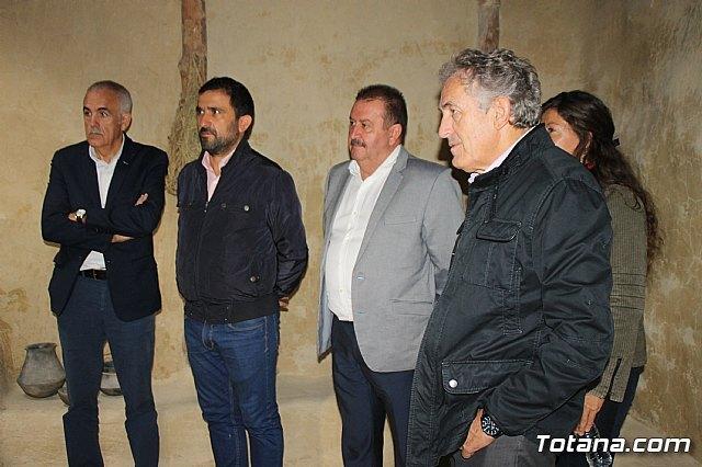 El alcalde acompaña a senadores murcianos a visitar el yacimiento aqueológico de La Bastida - 2, Foto 2