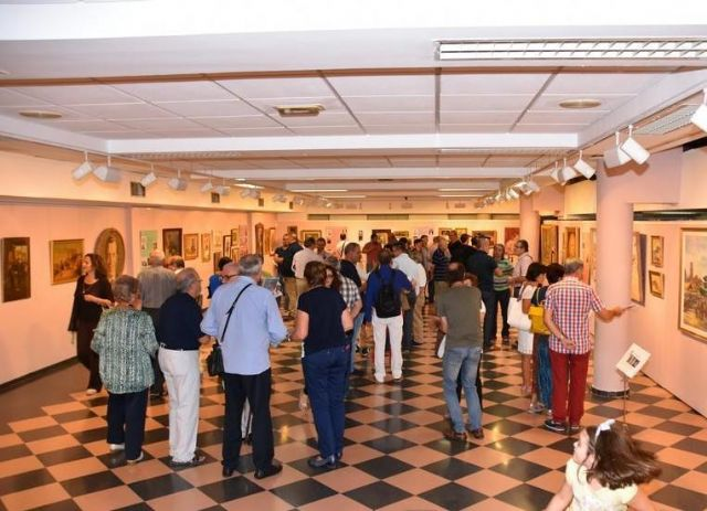 "More than 600 people have visited to date the commemorative exhibition of the Centennial of the City ""Totana, in centesimo anno suo"""