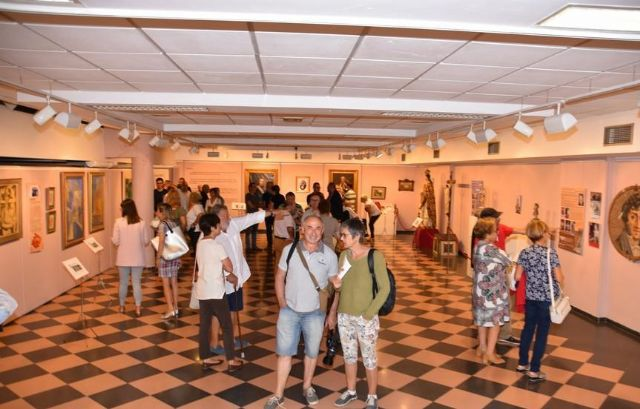 "More than 600 people have visited to date the commemorative exhibition of the Centennial of the City ""Totana, in centesimo anno suo"", Foto 2"