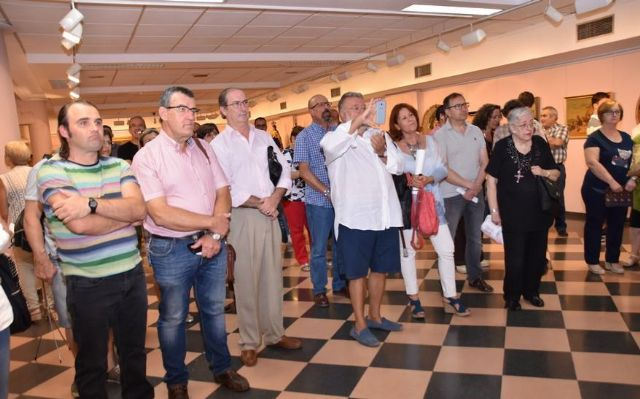 "More than 600 people have visited to date the commemorative exhibition of the Centennial of the City ""Totana, in centesimo anno suo"", Foto 4"
