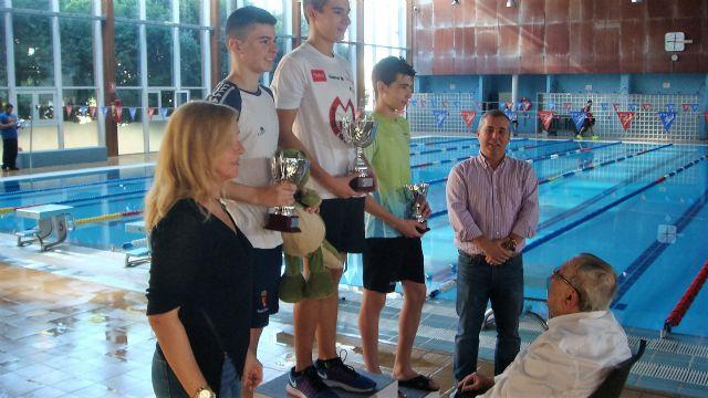 400 nadadores han participado esta mañana en Alcantarilla en el XXXV Trofeo Enrique García Villalba - 1, Foto 1
