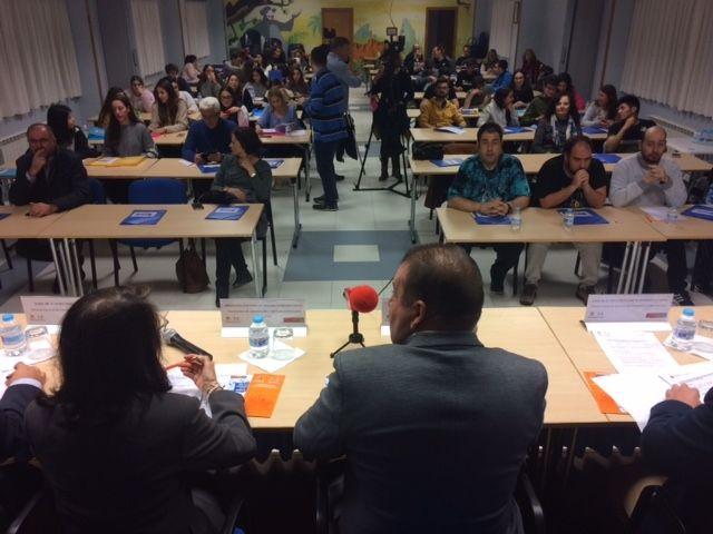 Más de medio centenar de estudiantes participan en las VII Jornadas de Formación sobre Discapacidad Física y Orgánica que se celebran en Totana - 3, Foto 3