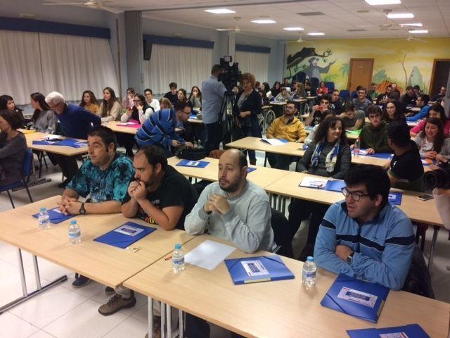 Más de medio centenar de estudiantes participan en las VII Jornadas de Formación sobre Discapacidad Física y Orgánica que se celebran en Totana - 4, Foto 4