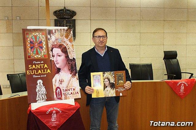 The program of the patron saint festivities of Santa Eulalia'2018