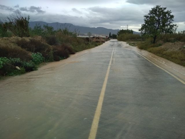 The rural roads of Juan Teresa and Paso del Molino are cut off due to the effect of the rains registered since the beginning of the storm, Foto 2