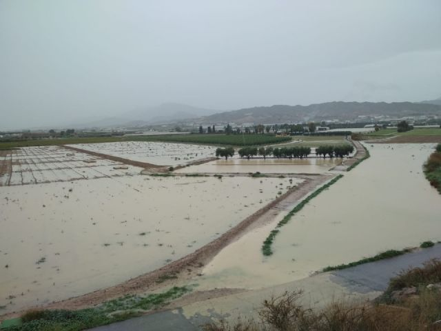 The rural roads of Juan Teresa and Paso del Molino are cut off due to the effect of the rains registered since the beginning of the storm, Foto 4