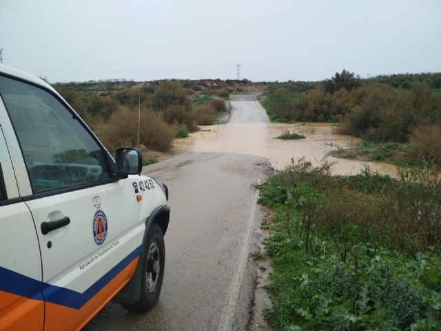 The rural roads of Juan Teresa and Paso del Molino are cut off due to the effect of the rains registered since the beginning of the storm, Foto 6
