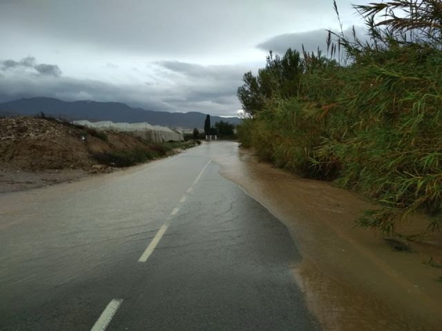 The rural roads of Juan Teresa and Paso del Molino are cut off due to the effect of the rains registered since the beginning of the storm, Foto 7